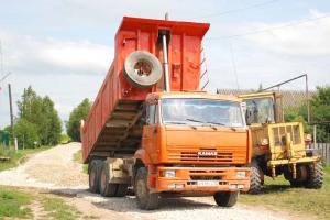 Идет ремонт дороги по улице Труда
